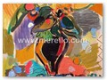 contemporary-art-artists-painters-merello.-summertime-flowers-(130x81-cm)